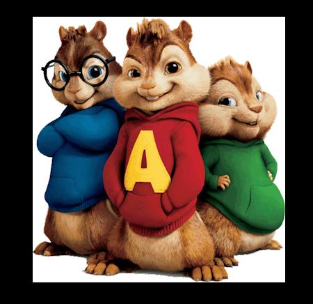 Tubes Alvin et les Chipmunks
